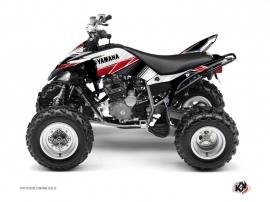 Yamaha 250 Raptor ATV Stripe Graphic Kit Red