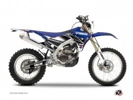 Yamaha 250 WRF Dirt Bike Stripe Graphic Kit Blue