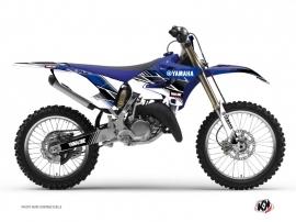 Yamaha 250 YZ Dirt Bike Stripe Graphic Kit Blue