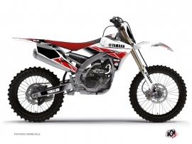 Yamaha 250 YZF Dirt Bike Stripe Graphic Kit Red