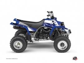 Yamaha Banshee ATV Stripe Graphic Kit Night Blue
