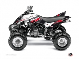 Yamaha 350 Raptor ATV Stripe Graphic Kit Red