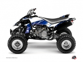 Yamaha 450 YFZ ATV Stripe Graphic Kit Night Blue
