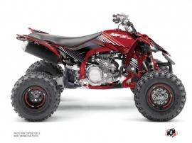 Kit Déco Quad Stripe Yamaha 450 YFZ R Rouge Noir