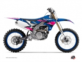 Kit Déco Moto Cross Stripe Yamaha 450 YZF Rose