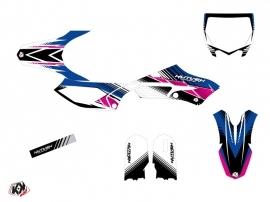 Yamaha 65 YZ Dirt Bike Stripe Graphic Kit Pink