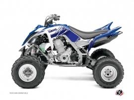 Yamaha 660 Raptor ATV Stripe Graphic Kit Night Blue