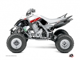 Kit Déco Quad Stripe Yamaha 660 Raptor Rouge