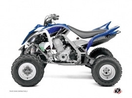 Yamaha 700 Raptor ATV Stripe Graphic Kit Blue