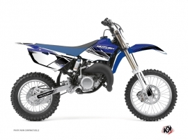 Kit Déco Moto Cross Stripe Yamaha 85 YZ Bleu