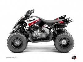 Yamaha 90 Raptor ATV Stripe Graphic Kit Red