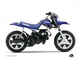Yamaha PW 50 Dirt Bike Stripe Graphic Kit Blue