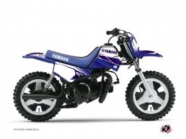 Yamaha PW 50 Dirt Bike Stripe Graphic Kit Night Blue