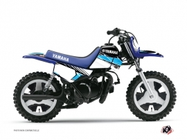 Yamaha PW 50 Dirt Bike Stripe Graphic Kit Black