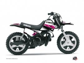 Yamaha PW 50 Dirt Bike Stripe Graphic Kit Pink