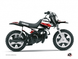Yamaha PW 50 Dirt Bike Stripe Graphic Kit Red