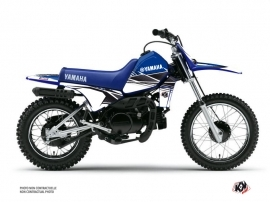 Yamaha PW 80 Dirt Bike Stripe Graphic Kit Blue