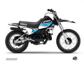 Yamaha PW 80 Dirt Bike Stripe Graphic Kit Black