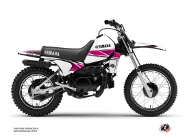 Yamaha PW 80 Dirt Bike Stripe Graphic Kit Pink