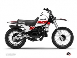 Yamaha PW 80 Dirt Bike Stripe Graphic Kit Red