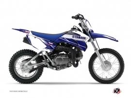 Yamaha TTR 110 Dirt Bike Stripe Graphic Kit Night Blue