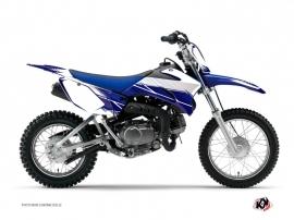 Kit Déco Moto Cross Stripe Yamaha TTR 110 Bleu Nuit