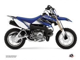 Yamaha TTR 50 Dirt Bike Stripe Graphic Kit Blue