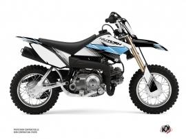 Yamaha TTR 50 Dirt Bike Stripe Graphic Kit Black