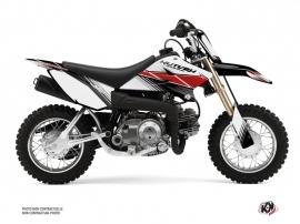 Yamaha TTR 50 Dirt Bike Stripe Graphic Kit Red