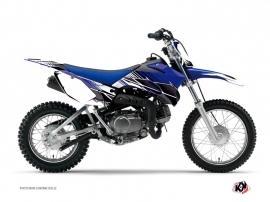 Yamaha TTR 90 Dirt Bike Stripe Graphic Kit Blue