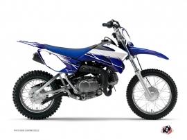 Yamaha TTR 90 Dirt Bike Stripe Graphic Kit Night Blue