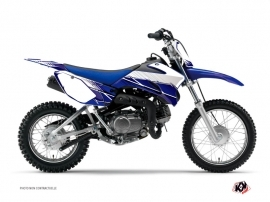 Kit Déco Moto Cross Stripe Yamaha TTR 90 Bleu Nuit