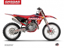 GASGAS MCF 250 Dirt Bike SX-K21 Graphic Kit Red