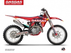 GASGAS MCF 450 Dirt Bike SX-K21 Graphic Kit Red