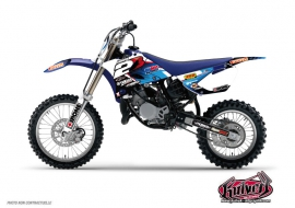 Yamaha 85 YZ Dirt Bike Replica Team 2b Graphic Kit 2012