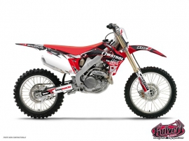 Honda 250 CRF Dirt Bike Replica Team Luc1 Graphic Kit 2012