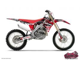 Honda 450 CRF Dirt Bike Replica Team Luc1 Graphic Kit 2012