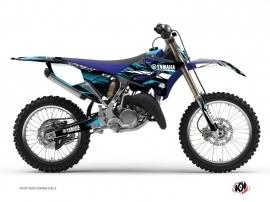Yamaha 250 YZ Dirt Bike Techno Graphic Kit Blue