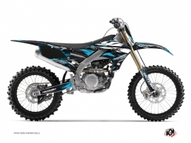 Yamaha 250 YZF Dirt Bike Techno Graphic Kit Blue