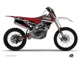 Yamaha 250 YZF Dirt Bike Techno Graphic Kit Red