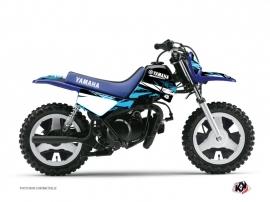 Yamaha PW 50 Dirt Bike Techno Graphic Kit Blue