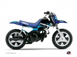 Kit Déco Moto Cross Techno Yamaha PW 50 Bleu