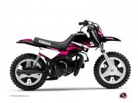 Kit Déco Moto Cross Techno Yamaha PW 50 Rose