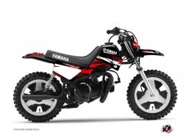 Yamaha PW 50 Dirt Bike Techno Graphic Kit Red