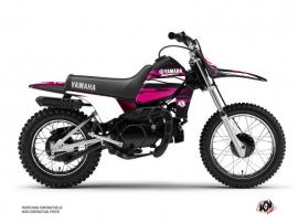 Yamaha PW 80 Dirt Bike Techno Graphic Kit Pink