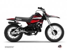 Yamaha PW 80 Dirt Bike Techno Graphic Kit Red