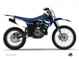 Yamaha TTR 125 Dirt Bike Hangtown Graphic Kit Blue
