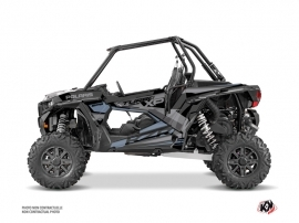 Polaris RZR 1000 Turbo UTV Titanium Graphic Kit Grey