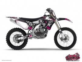 Yamaha 250 YZ Dirt Bike Trash Graphic Kit Red