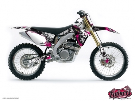 Suzuki 250 RMZ Dirt Bike Trash Graphic Kit